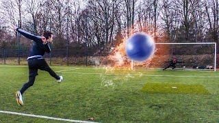 ULTIMATIVE GYMNASTIKBALL FUßBALL CHALLENGE + BESTRAFUNGEN !