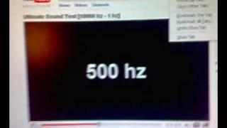 Super Subwoofer Test 10000hz - 1hz