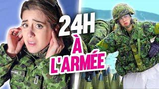 Vivre comme un soldat militaire à l'armée pendant 24h | DENYZEE
