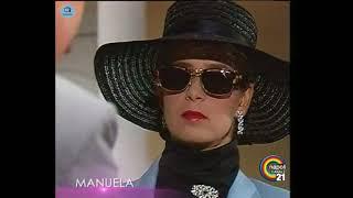 """🎭 Сериал """"Мануэла"""" 53 серия, 1991 год, Гресия Кольминарес, Хорхе Мартинес"""
