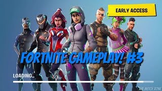 FORTNITE GAMEPLAY! #3 - Building A House In Fortnite!   Ps4   T.M.Z.