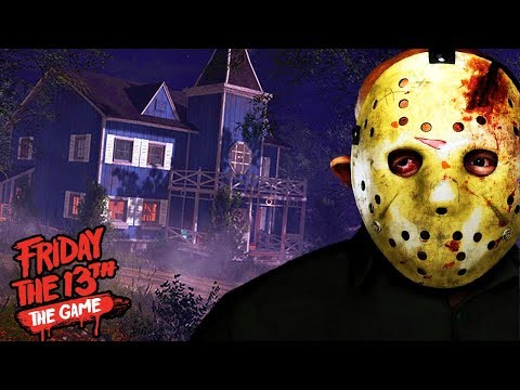 NEW JASON AND MAP ADDED TO THE GAME! | Friday The 13th The Game (Jarvis House Map NEW DLC)