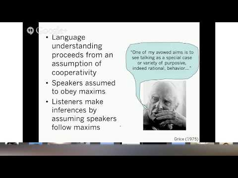 Learning Language from Other People