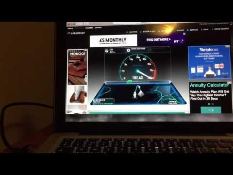 Virgin Vivid 200 Gamer Internet Review (Speed Test )