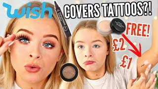 TESTING WISH MAKEUP!! SO CHEAP! | sophdoesnails