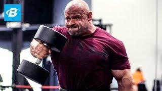 IFBB Pro Branch Warren Crushing Shoulders & Triceps