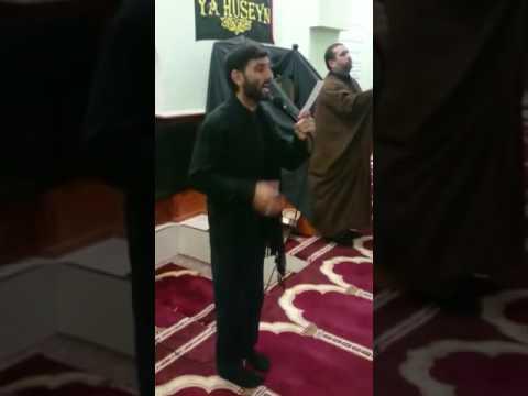 Ulvi Ahadov-AbdulMehdi Xarkov Imam Eli mescidi..Ekberivin asiqiyik ya Huseyn.. qisa parca..2016
