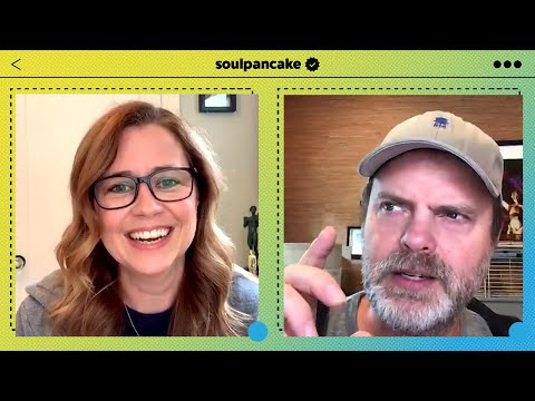 Jenna Fischer + Rainn Wilson Swap Mental Health Tips | Hey There, Human
