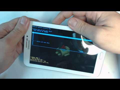 Samsung Galaxy Tab 3  SM-T211 hard reset