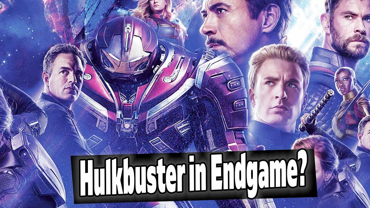 Chinese Avengers Endgame Post Reveals Hulkbuster New Tv Spots