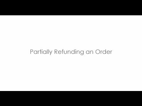 Magento 2 - How to Partially Refund an Order
