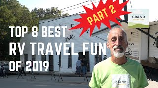 Ep. 132: Top 8 Best RV Travel Fun for 2019 | camping hiking kayaking National Parks