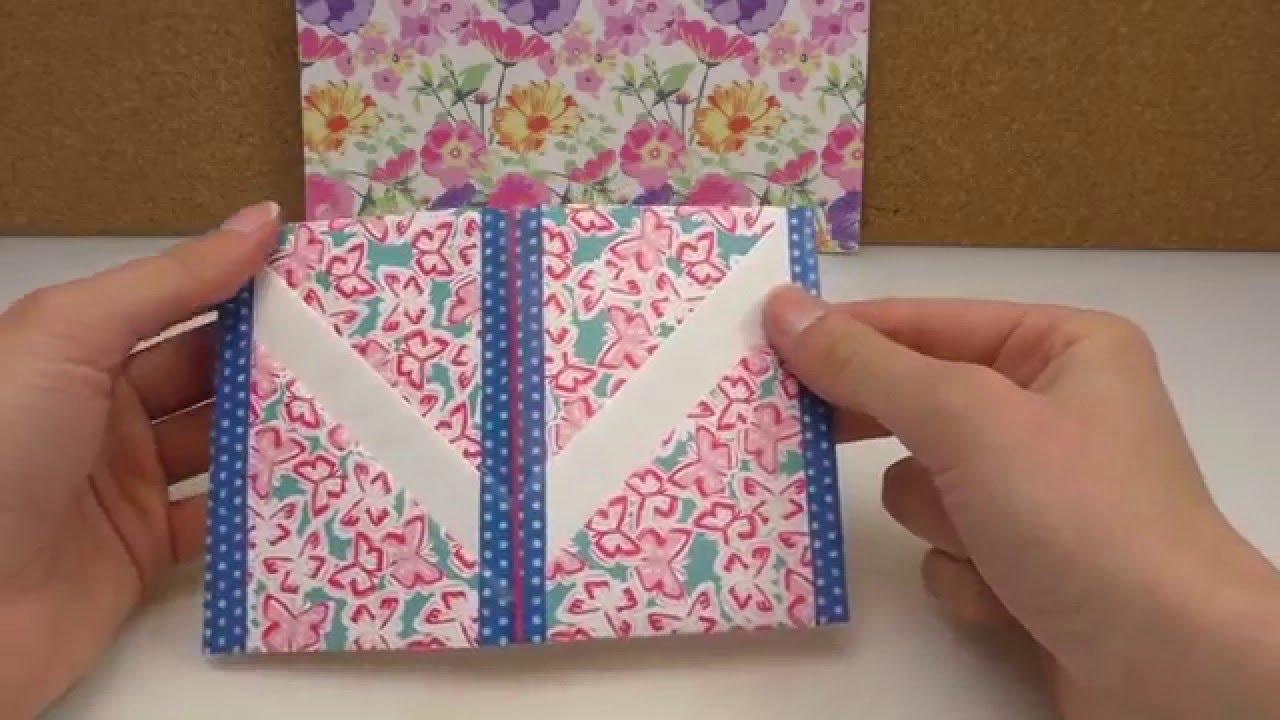 Diy Filofax Idee Für Karten Visitenkarten Kreditkarten Etc Im Filofax Aufbewahren Ringbuch