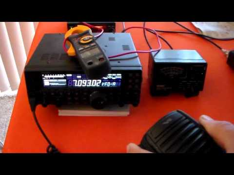 Yaesu FT450 Vs FT857D Efficiency Part 1.