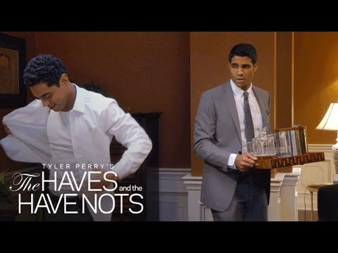 Landon Has Eyes for Charles  Tyler Perry's The Haves and the Have Nots  Oprah Winfrey Network