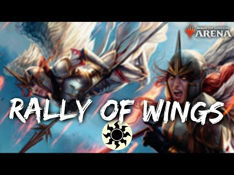 MTG Jeff: Rally of Wings – Mono-White Birds & Angels Deck in WAR