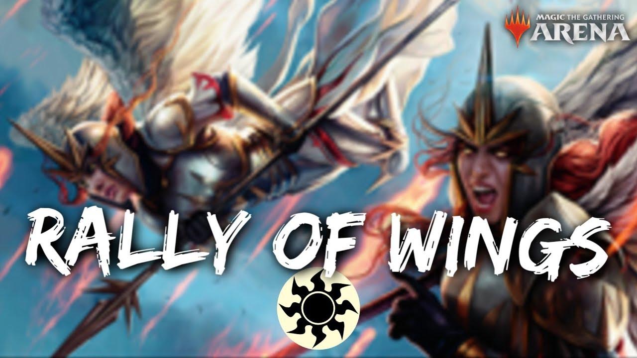 Rally of Wings [MTG Arena] | Birds & Angels Deck in WAR Standard