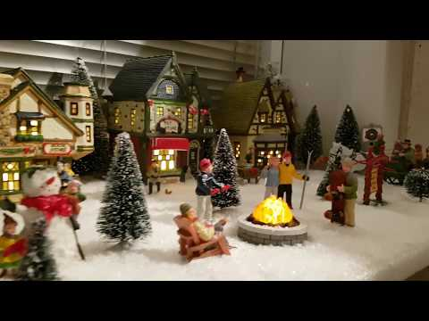 Christmas Village day scene