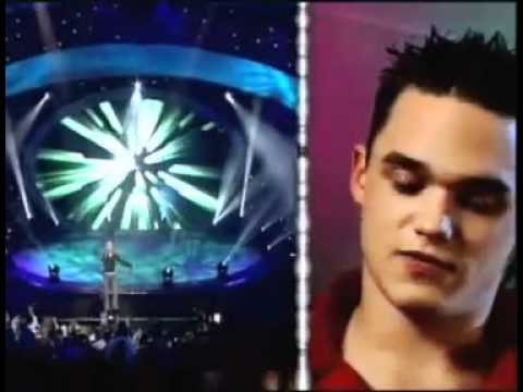 Gareth Gates - Unchained Melody from Pop Idol Concert