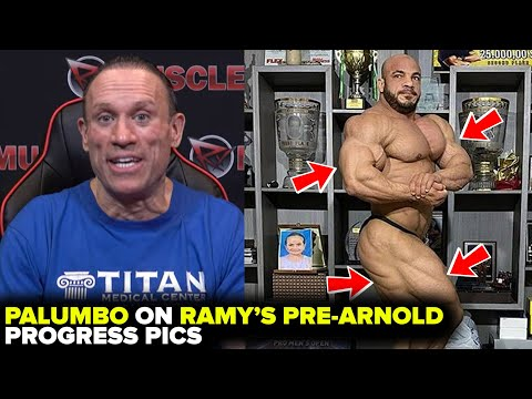 RAMY COULD WIN OLYMPIA LOOKING LIKE THIS!