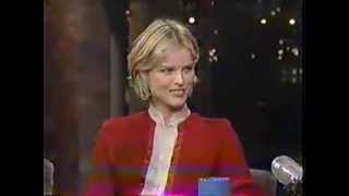 Eva Herzigova - Late Night w/ David Letterman