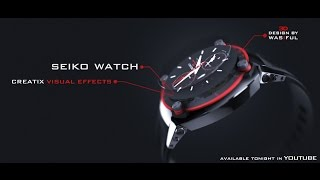 New Element 3D V2 (SEIKO WATCH) - After Effects | Cinema 4D