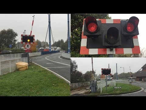 *Very Rare* Preston Dock Level Crossings AND Swing Bridge, Lancashire (Saturday: 29/10/2016)