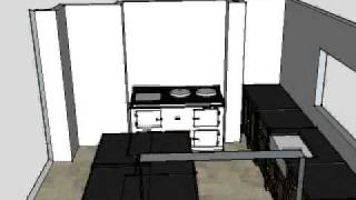 Freestanding Kitchen Design With Island