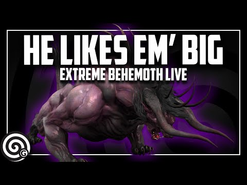Lookout, I think Extreme Behemoth LIKES YOU | Monster Hunter World thumbnail