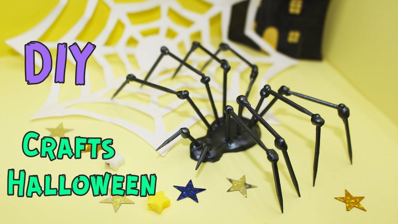 DIY craft halloween with a glue gun / hack halloween / glue gun craft  BublikShow