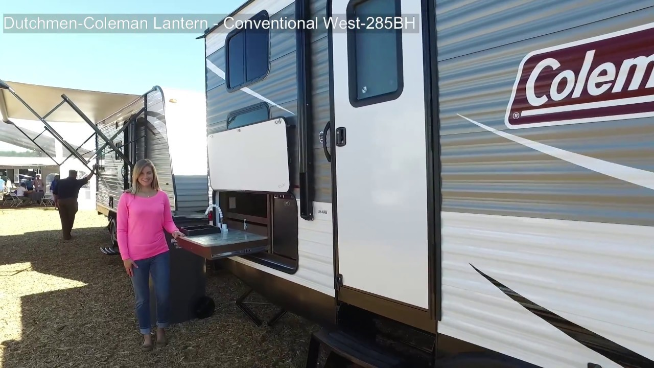 2018 coleman lantern 285bh 285bh 10232017 trailerland ontario trailers open and enclosed trailer [ 1280 x 720 Pixel ]
