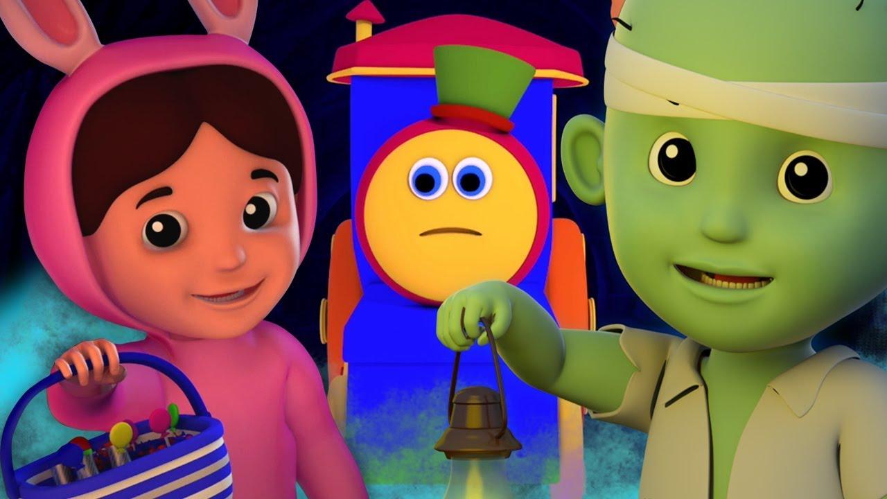 Ada Sebuah Labu Menakutkan | musik halloween untuk anak | Theres A Scary Pumpkin | Kids Tv Indonesia