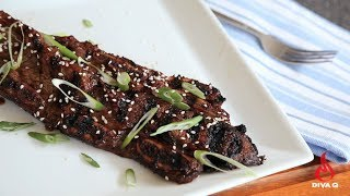 Diva Q's Korean Cut Beef Short Ribs