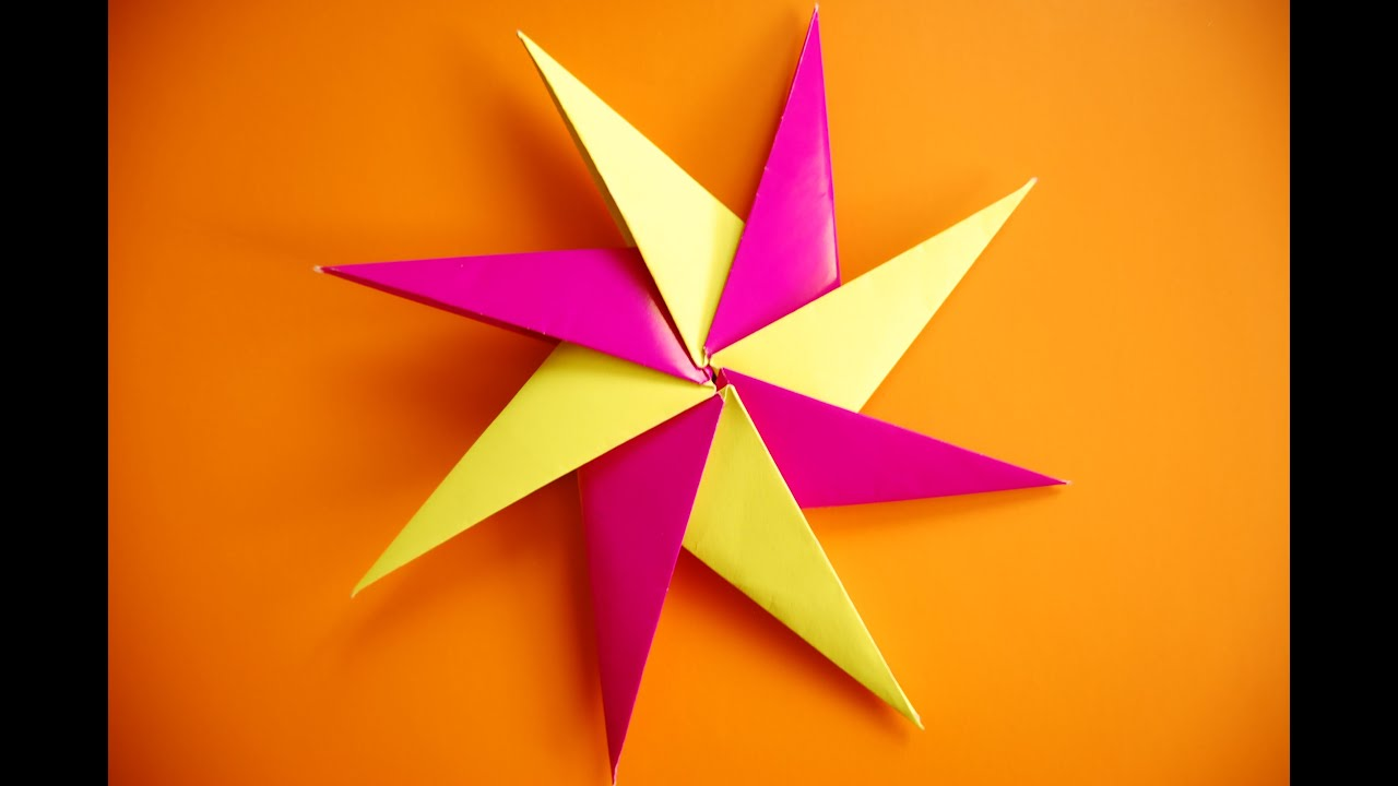 How To Make a Paper Ninja Star (Shuriken) - Origami | Remake - YouTube | 720x1280