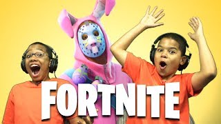 Fortnite Battle Royale Season 3 | Happy Easter - Kids Playing Fortnite - Playing With SUBS