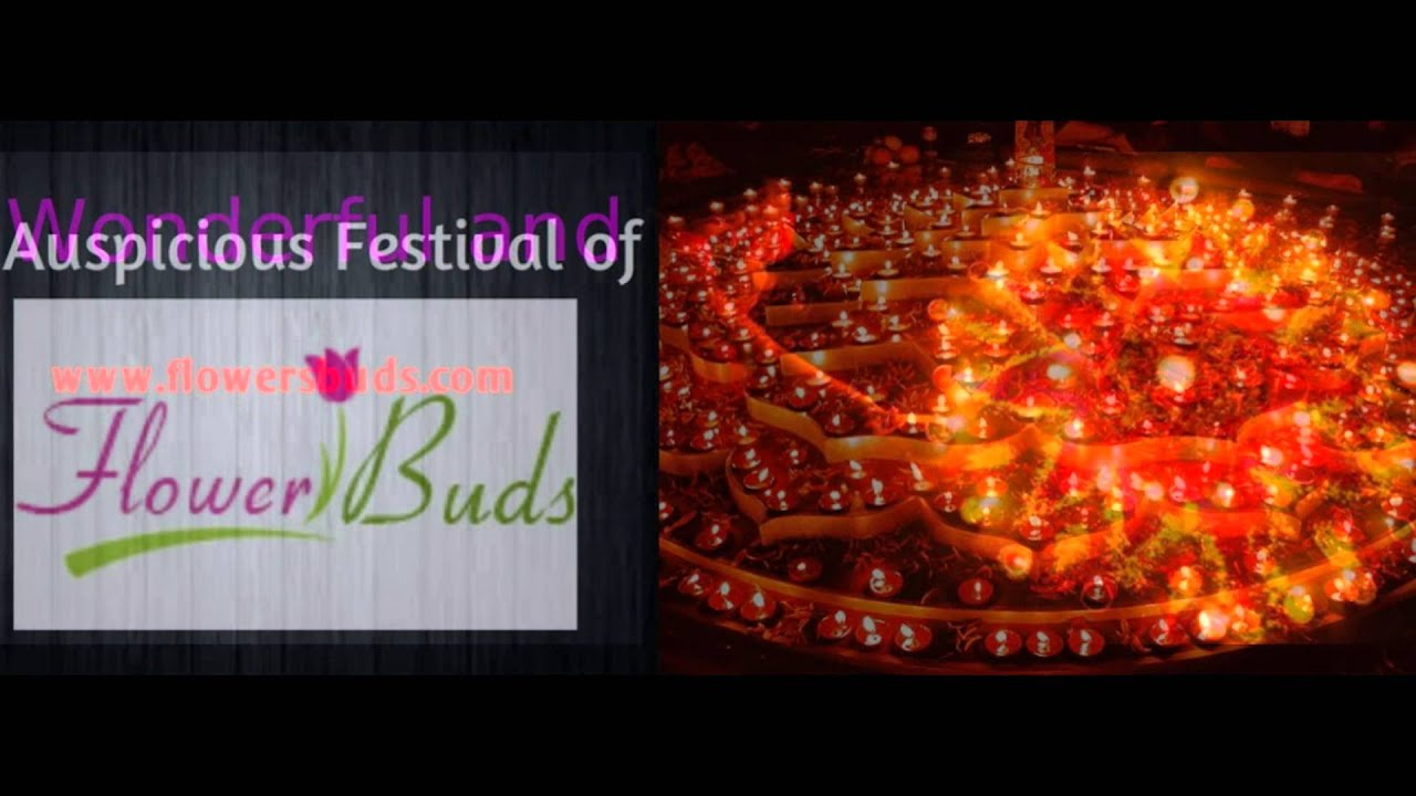 Online Diwali Gift Flowers Delivery In Hyderabad Youtube