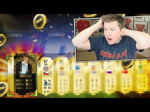 🔥😱WYDAŁEM 2.000.000 NA PACZKI!!! 💰🔥 FIFA 18