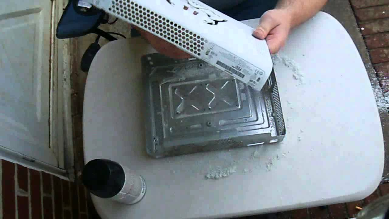 How to paint your Xbox 360 fat console  Case and shell modding tutorial