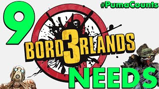 9 Things Borderlands 3 Needs to Have PumaCounts