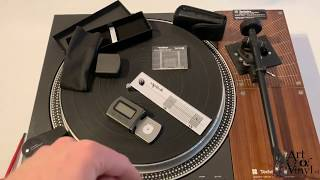Turntable Cartridge Alignment Technics SL-110 with Rega Tonearm And Dynavector Cartrdige