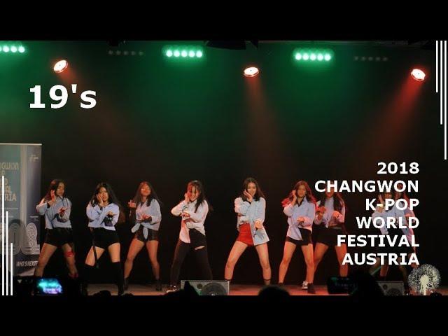 [2018 ChangFe Austria Finals] 19's / MOMOLAND - BBoom BBoom, Weki Meki - La La La