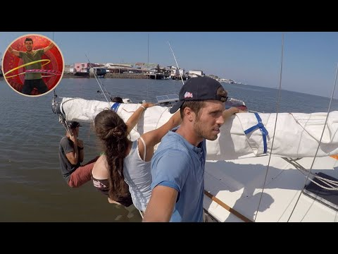 WE HIT BOTTOM WITH OUR SAILING BOAT IN COSTA RICA - Ep 24