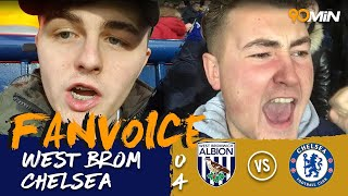 Chelsea crush West Brom 0-4| West Brom 0-4 Chelsea | 90min FanVoice