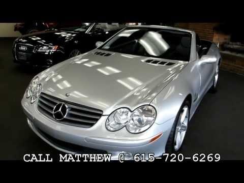 2005 Mercedes-Benz SL500 @ Dixie Motors Inc Nashville, TN