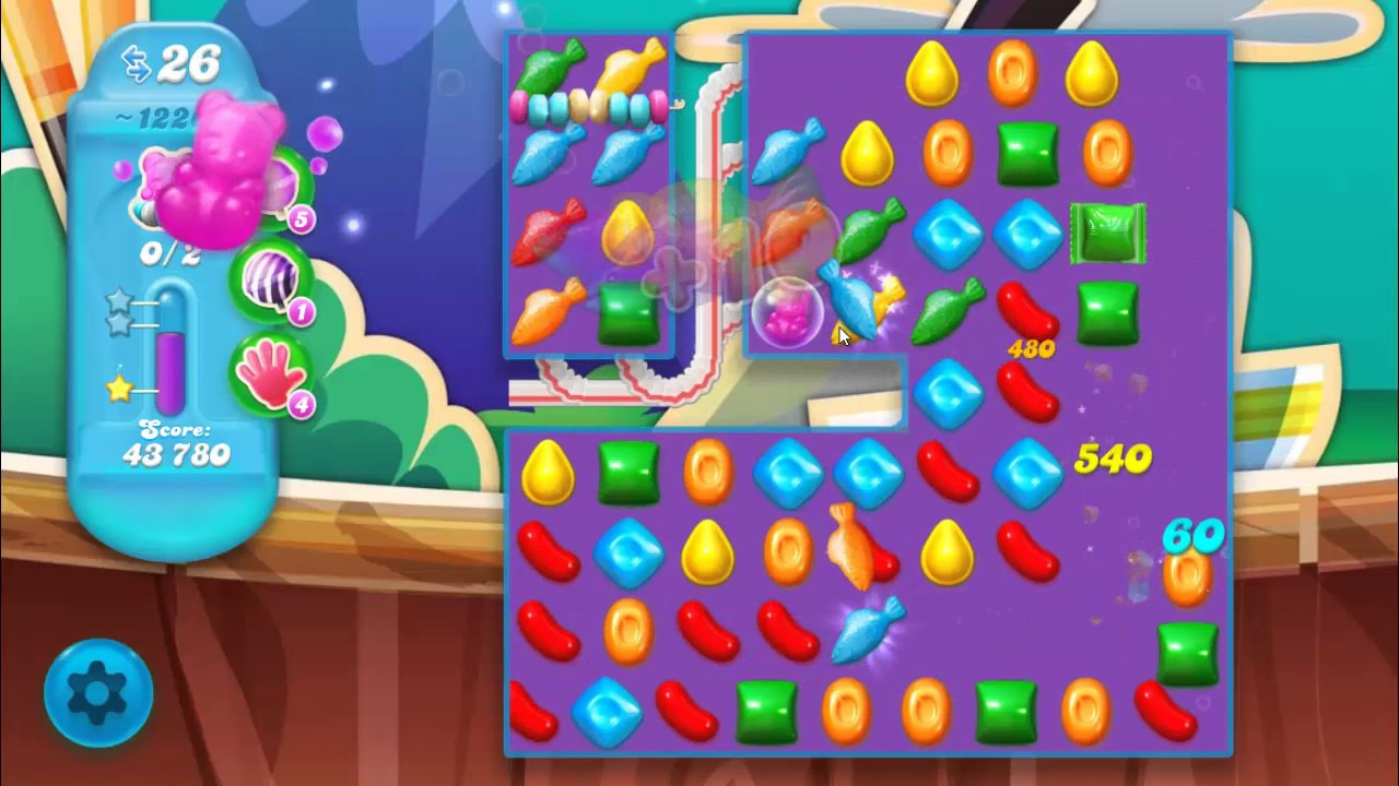 Candy Crush Soda Saga Level 1226 ★★★ Coloring Candy Fun ...