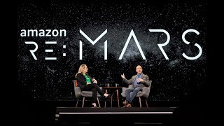 Jeff Bezos fireside chat at re:MARS 2019