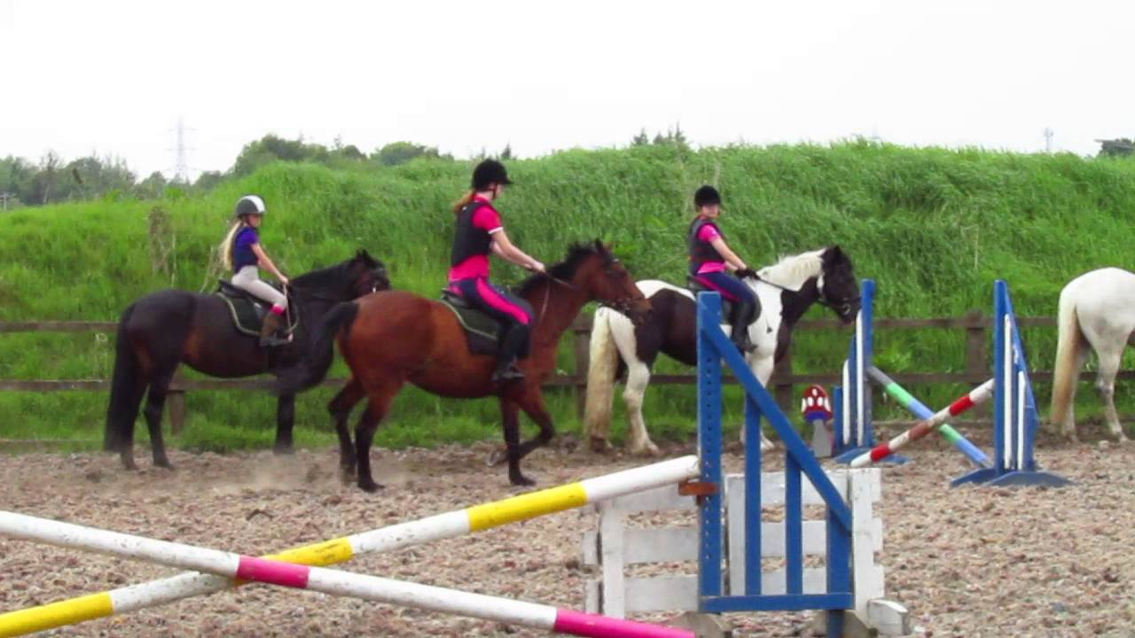 Riding Marigold In The Outdoor At Ryders Farm Equestrian