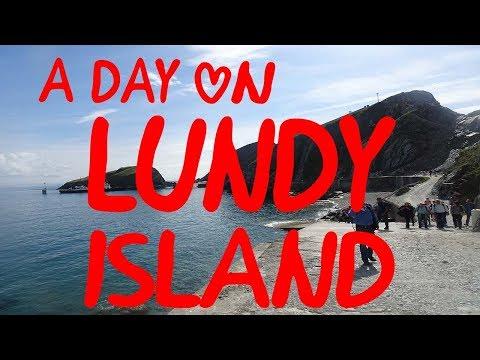 A DAY ON LUNDY ISLAND