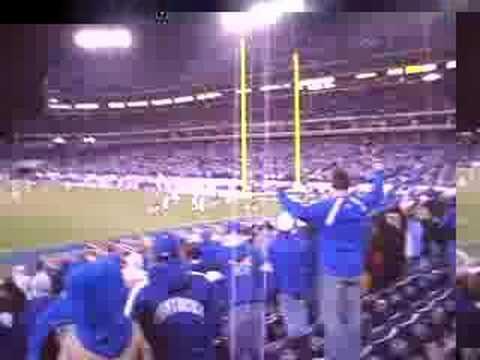 2007 Music City Bowl Final Play Kentucky Wins