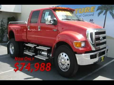 2000 Ford F650 Crew Cab flatbed truck | Item J2466 | SOLD! O...